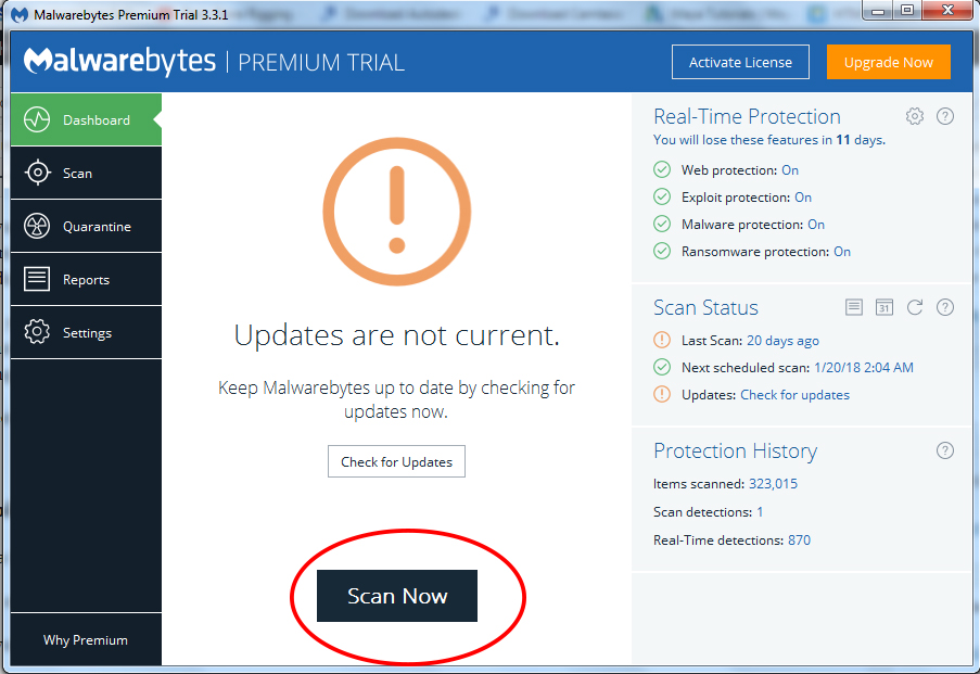 How to stop pop-up ads using Malwarebytes