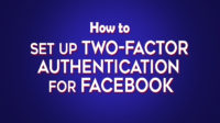 How to set up Two-factor Authentication for Facebook